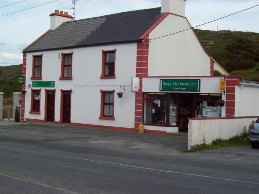 Gleann Cholm Cille post office and shop
