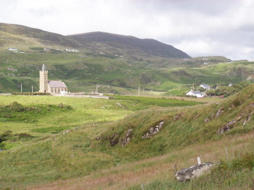 Glen view showing Protestant church